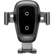 Baseus <b>Wireless</b> Fast Charger Bracket Black <b>Car</b> Charger Sale ...