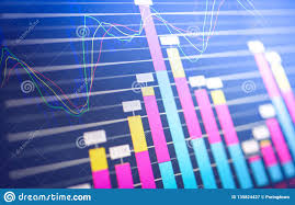 Stock Investment Chart Business Graph Chart Of Stock Market Investment Trading