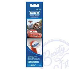 [Oral-B Stages Power <b>Kids</b> Replacement <b>Brush</b> Heads- Disney Cars ...