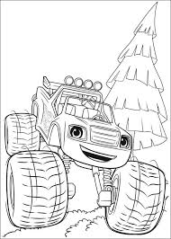 Blaze And The Monster Machines Coloring Pages Best Coloring Pages