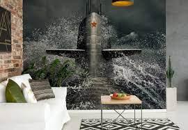 Submarine Wall Paper Mural