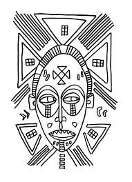 27 Dessins De Coloriage Masque Afrique Imprimer Sur Laguerche