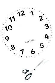 Clock Face Printable Espace Verandas Com