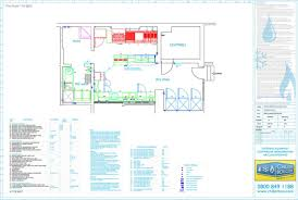 Small Picture Perfect Restaurant Kitchen Layout 3d Cad Drawings With Design