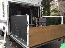 enclosed trailer flooring ideas. Privacy Screens For Toy Hauler When Rhpinterestcom Floors Trailer Pinterest Camper Storage Ideas Enclosed Flooring G
