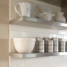 Stainless Floating Shelves