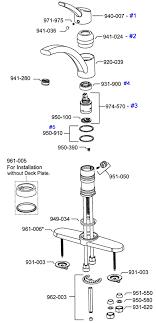 faucet repair parts for parisa 39 series