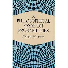 a philosophical essay on probabilities by pierre simon laplace