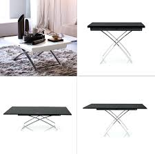 coffee table to dining table sofa table that converts to a dining table coffee table that