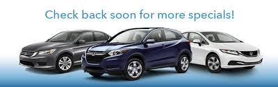 honda car lease specials