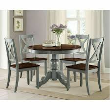 Farmhouse Dining Table Set Rustic Round Dining Room Kitchen Tables