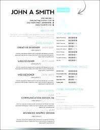 One Page Resume Template Word Fascinating Single Page Resume Template Free Pingfinco