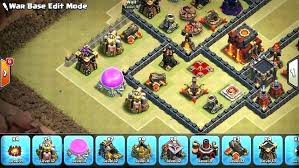 wall level 12 wall level clash of clans the best war base w tower anti