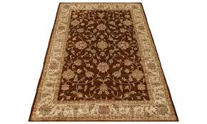 faux persian rug brown beige green traditional fl silk area rugs faux persian rug