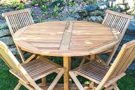 exceptional round wooden garden tables round folding tables folding garden table and chairs wooden garden table