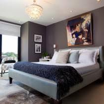 grey and navy bedroom. blue and gray master bedroom. grey navy bedroom m