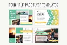 1 2 Page Ad Design 009 Half Page Flyer Template Open Office Commonpence Co Free