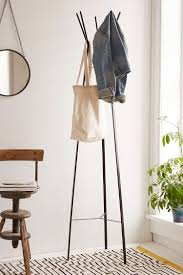 my hunt for a stylish coat rack