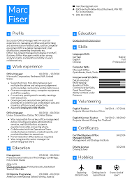 Resume Examples By Real People Office Manager Resume Template