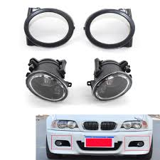 E46 M Sport Fog Light Bulb Us 55 98 Fit For 01 06 Bmw E46 M3 Front Bumper Fog Lights No Bulbs W Covers In Car Light Assembly From Automobiles Motorcycles On Aliexpress