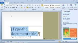 microsoft word document 2010 free download office starter 2010 available as free download lifehacker australia