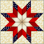 Patriotic Blazing Star - tutorial | Quilting 2 | Pinterest ... & Patriotic Blazing Star - tutorial Adamdwight.com
