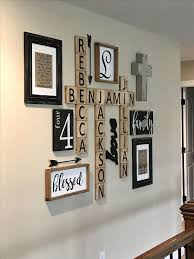 family wall decor diy scrabble wall art ideas on on kitchen design country decor easy canvas