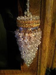 beaded tea ball strainer infuser chandelier ornament