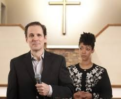 playmakers repertory company presents the christians in rotating   the christians features joey collins as pastor and nemuna cessay as pastor s wife