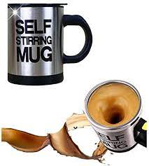 This self stirring mug comes with the size of 12 ounces which is simply great for a cup of coffee. Amazon Com Self Stirring Coffee Mug Mengshen Stainless Steel Automatic Mixing Spinning Cup For Morning Travelling Home Office Men And Women Ms A004a Black Coffee Cups Mugs