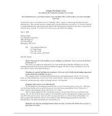 Sample Hardship Letter For Loan Modification Green Brier Valley