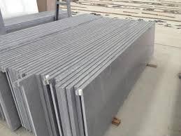 light grey engineering quartz countertop 1