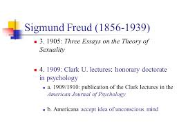 chapter psychoanalysis the beginnings ppt video online sigmund freud 1856 1939 3 1905 three essays on the theory
