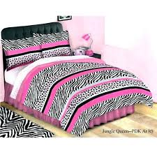 zebra print bedding twin comforter set purple jungle striped animal leopard king size