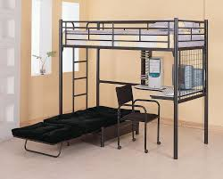 Bunk Bed With Couch And Desk Beautiful Couch Bunk Bed Cost Southbaynorton To Design Decorating
