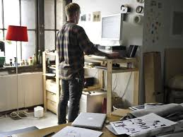 9 easy ways to turn your cur desk into a standing desk business insider