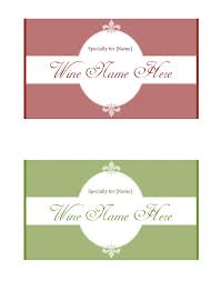 Free Printable Wine Labels Wine Label Template Make Your Own Wine Labels