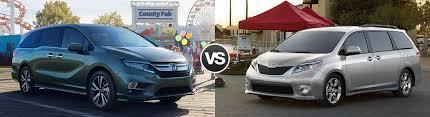2018 Honda Odyssey Vs 2017 Toyota Sienna
