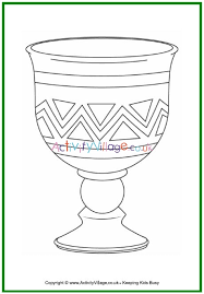 Printable book a short book about kwanzaa to print for early readers, with pages for the student to color and short phrases to copy. Kwanzaa Colouring Page Unity Cup