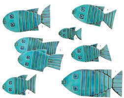 fish wall sculpture fish wall art set of 8 fish wall tiles ceramic art garden sculpture turquoise on ceramic fish wall art uk with outdoor wall art bathroom wall decor ceramic tile by gvega