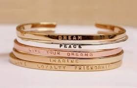 Inspirational Quotes Bracelets Extraordinary The Roaring Twenties Kim Bui South Of Sunset