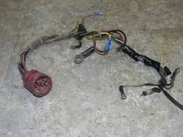 1974 1975 70 75hp omc johnson evinrude outboard wiring harness
