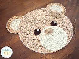 teddy bear rug next pink aldi