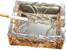 LTJTVFXQ-ashtrays European Glass Ashtray Office ... - Amazon.com