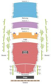 Pikes Peak Center Interactive Seating Chart Colorado Springs Philharmonic The Nutcracker Tickets Fri