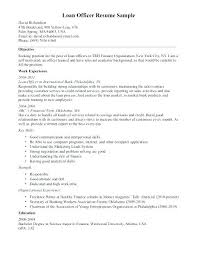 Awesome Mortgage Loan Officer Resume Sample Or Mortgage Processor