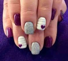 Gel Nails Designs Ideas furry nails art