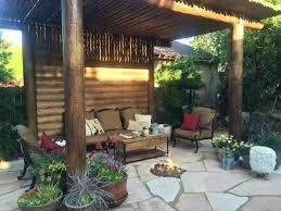 mystic gardens landscape backyard patio and gazebo with fire pit garden state honda mystic gardens