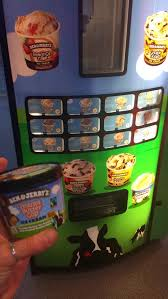 Ben And Jerry's Vending Machine Impressive Off To Olomouc