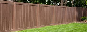 Vinyl Grain Wood Fence Long Island Vinyl Fence Installation
